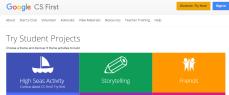 google CS first